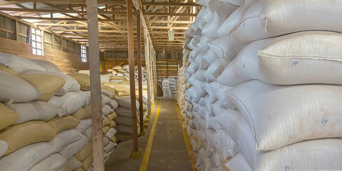 Postharvest grain losses storage